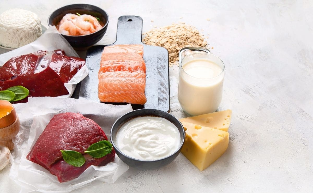 Foods with vitamin B-12